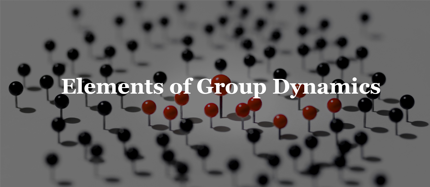 Elements of Group Dynamics