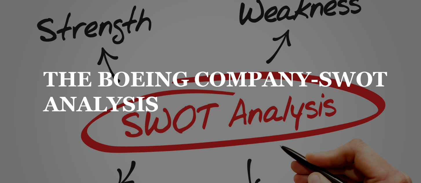 THE BOEING COMPANY-SWOT ANALYSIS
