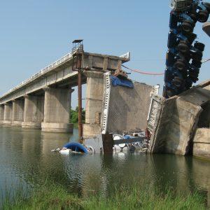 I-35 Bridge Collapse In Minneapolis